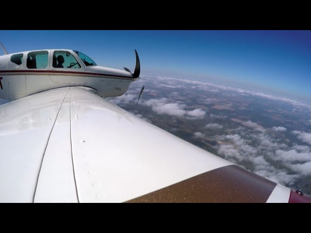 Burning AvGas! Flying to the PEACH STATE AERODROME in a BEECHCRAFT BONANZA
