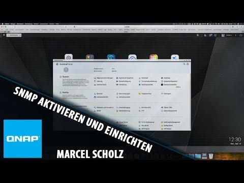 SNMP aktivieren und einrichten auf eurem QNAP NAS | Marcel Scholz