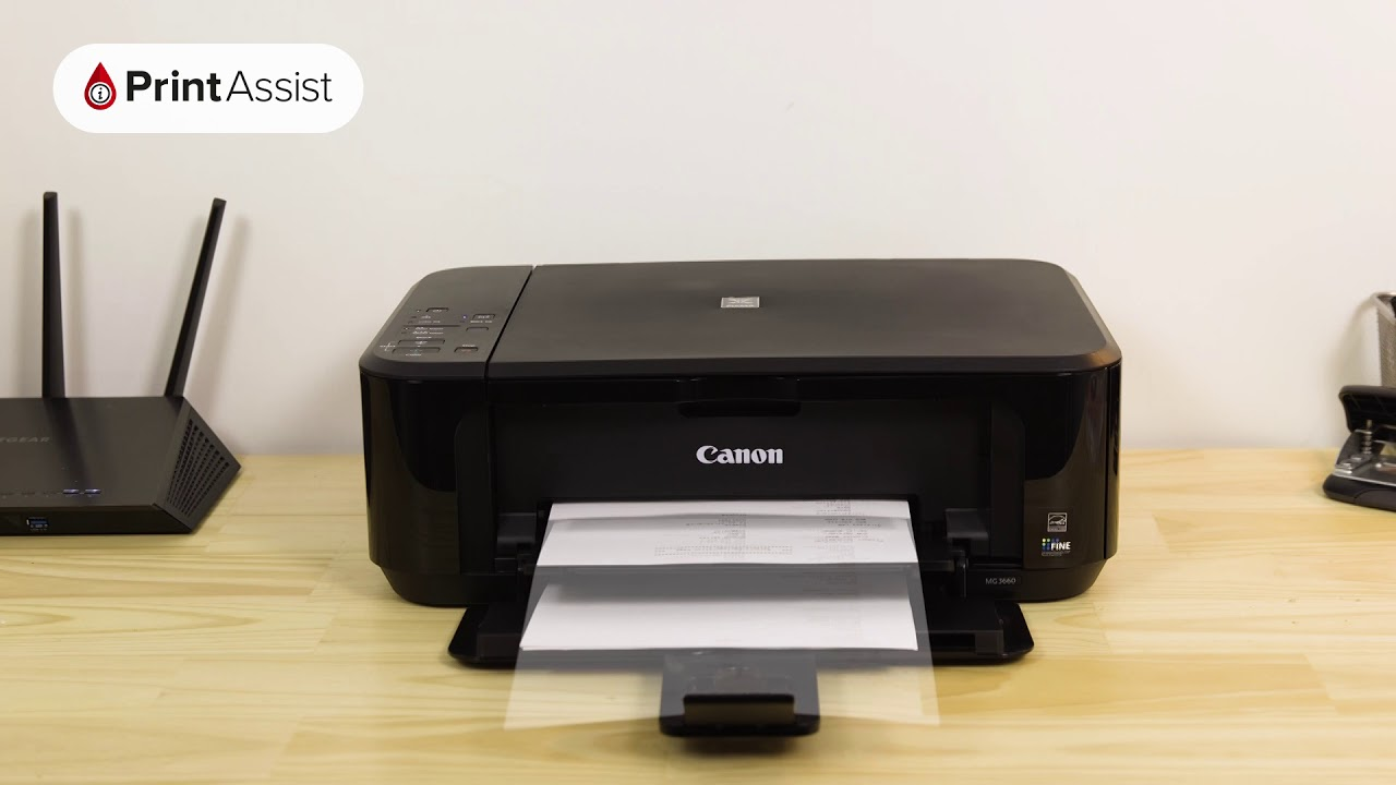 Canon MG3660 How to print out the Network Configuration Page