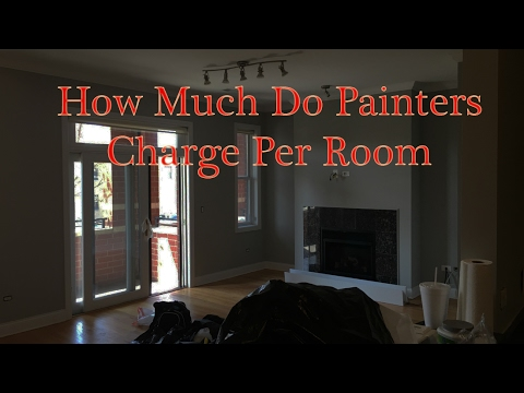 How Much Do Painters Charge Per Room Call 773 575 8172
