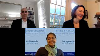 ISD Diverse Diplomacy Leaders series with Stacey Berg & Kevin Gonzalez