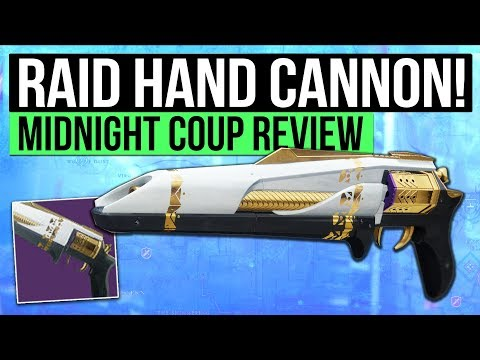 Destiny 2 | MIDNIGHT COUP REVIEW! - Leviathan Raid Hand Cannon: One of The Best in The Game!