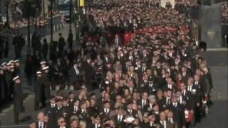 Veterans Grand March Past - Cenotaph 2011