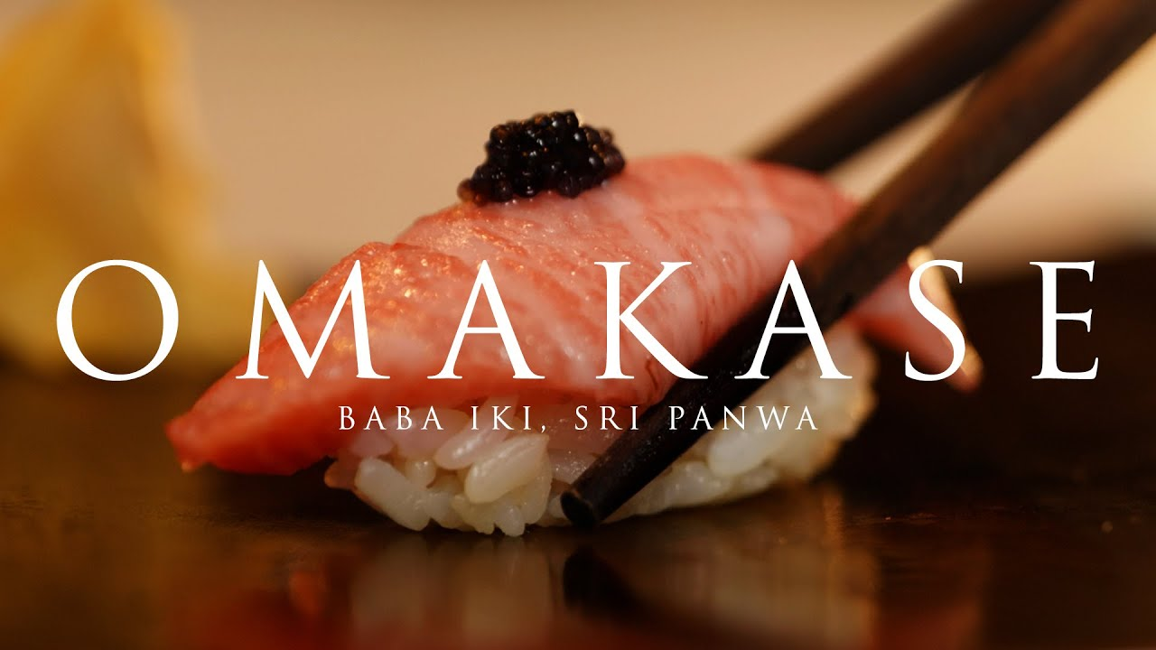 What to expect from Sri panwa's Omakase experience