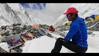 Photo Journalist Purnima Shrestha Exibits Photo At Mt. Everest(Nepali Ver)