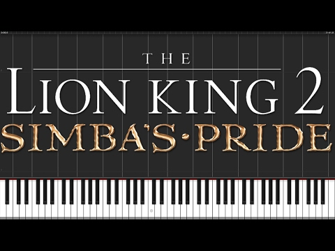 One of Us - The Lion King II: Simba's Pride [Piano Tutorial] (Synthesia) // Wouter van Wijhe