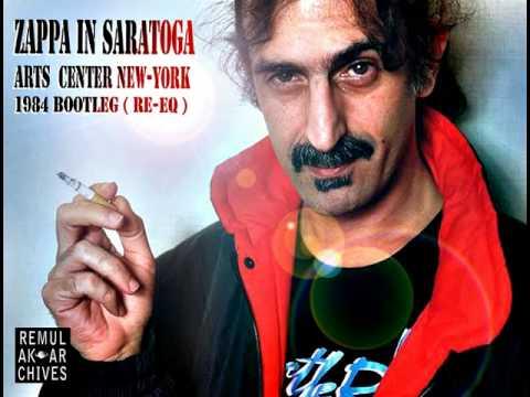 """Zappa Band """"Live in Saratoga"""" 1984 ( Re-Eq) Part 1"""