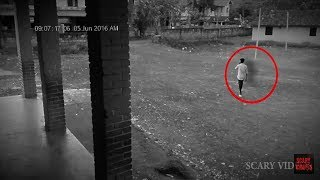 Terrific Ghost attack Caught On CCTV Camera Footage | Ghosts Sightings #Hashtag