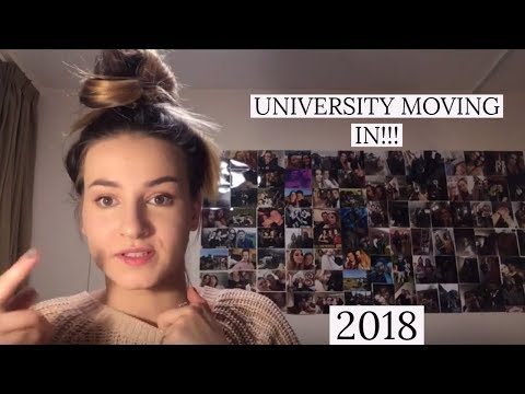 UNIVERSITY OF SURREY MOVING IN VLOG 2018!!!