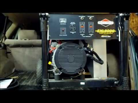 diagnosing a generator that has no power output air cooled generator homelite 2 5kw generator engine timing #4