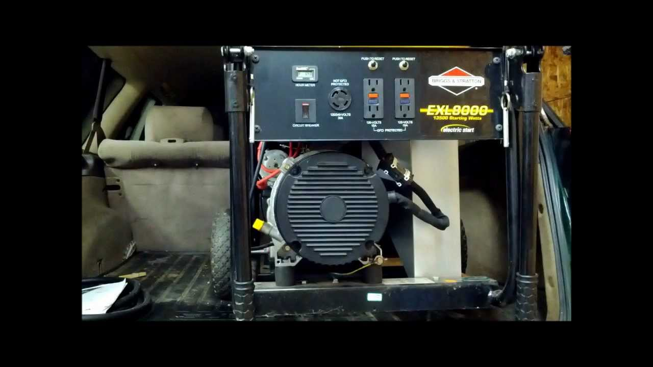 11 Hp Briggs And Stratton Wiring Diagram Diagnosing A Generator That Has No Power Output Youtube