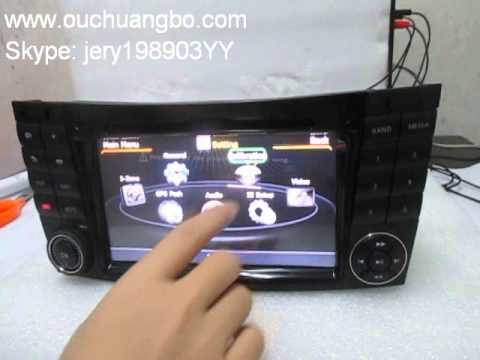 S100 S100 Mercedes Benz CLS350 CLS500 CLS55 audio DVD radio stereo palyer