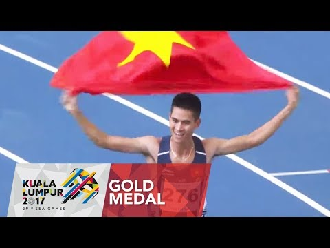Athletics Men's 1,500m Finals | 29th SEA Games 2017