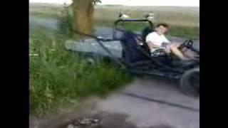 Palenie gumy Buggy 2 Czarnocin