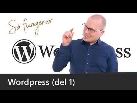Bygg din egen WordPress-baserade webbplats
