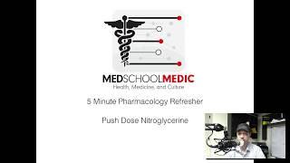 5 minute refresher- Push dose nitroglycerin