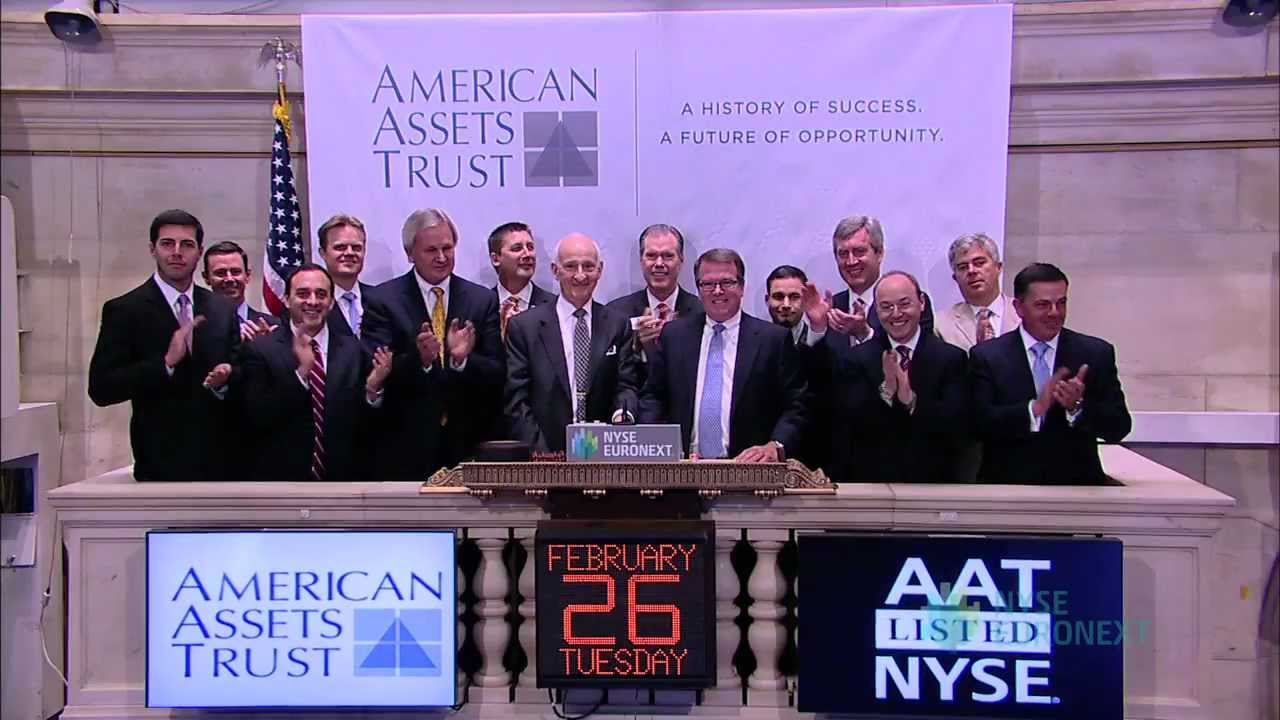 American Assets' Chairman Has Bought $54 Million In Stock Since May