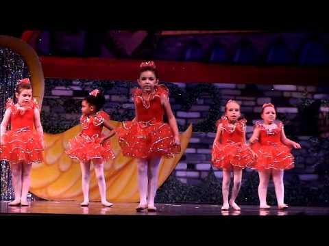 Avery's 2011 Ballet Routine Rehearsal (2nd Take)