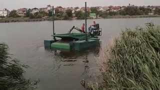 Плавающий мини экскаватор думпер / продажа(http://www.floatingexcavators.com Плавающий мини экскаватор думпер может выполнять работы: углубление дна копанием очист..., 2015-01-29T08:19:01.000Z)