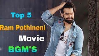 Ram Pothineni Top 5 Movie BGM || Ram Pothineni movie Ringtones || Feel The BGM