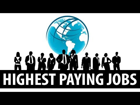 Top10 Highest Paying Jobs in the World