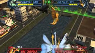 Godzilla: Save the Earth (PS2 Gameplay)
