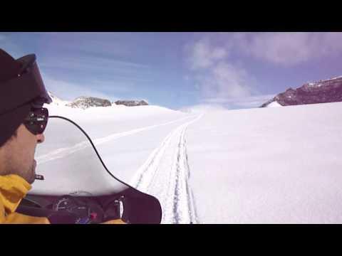 Base Esperanza - paseando por el glaciar