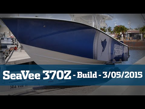 SeaVee 370Z Taking Delivery - Florida Sport Fishing TV
