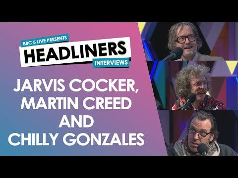 Jarvis Cocker, Martin Creed & Chilly Gonzales in Edinburgh