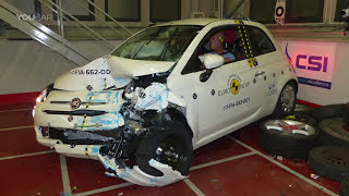Fiat 500 (2017) Crash Tests [YOUCAR]