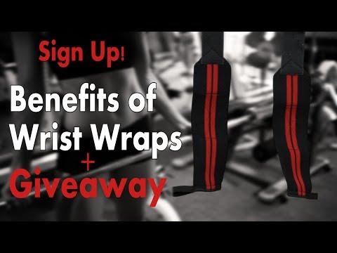 Benefits of wrist wraps + Giveaway! WinWristWraps.info