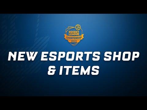 Rocket League - Esports Shop Trailer