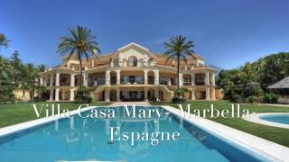 Location Villa Luxe Espagne - Marbella Front de Mer
