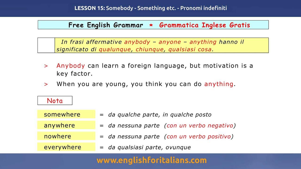 Grammatica Inglese Pdf Gratis