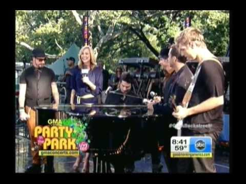 Backstreet Boys  Incomplete Good Morning America 08312012
