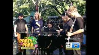 Backstreet Boys - Incomplete (Good Morning America 08-31-2012)