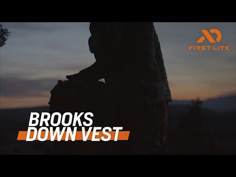 Introducing The Brooks Down Vest | First Lite