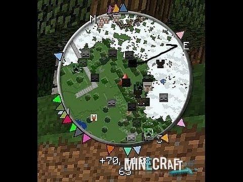 мод на майнкрафт 1.7.2 на мини карту #10