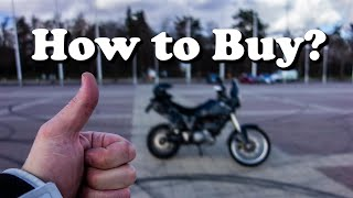 How To Buy a Used Motorcycle?