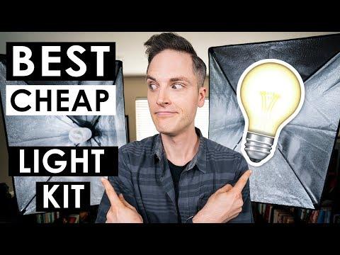 Best Budget Lighting Kit for YouTube