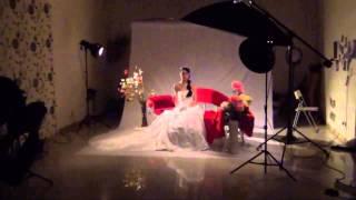 2012 03 16 Свадебная фотосъемка в фотостудии