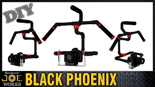 DIY: Construye tu propio ESTABILIZADOR DE CAMARA con GIROSCOPIO - The Black Phoenix | JOE Works