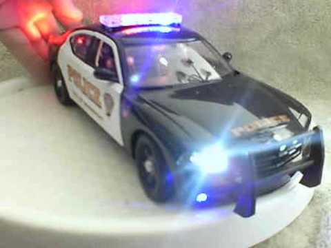 Bridgeport Conneticut Police Diecast Model Car With