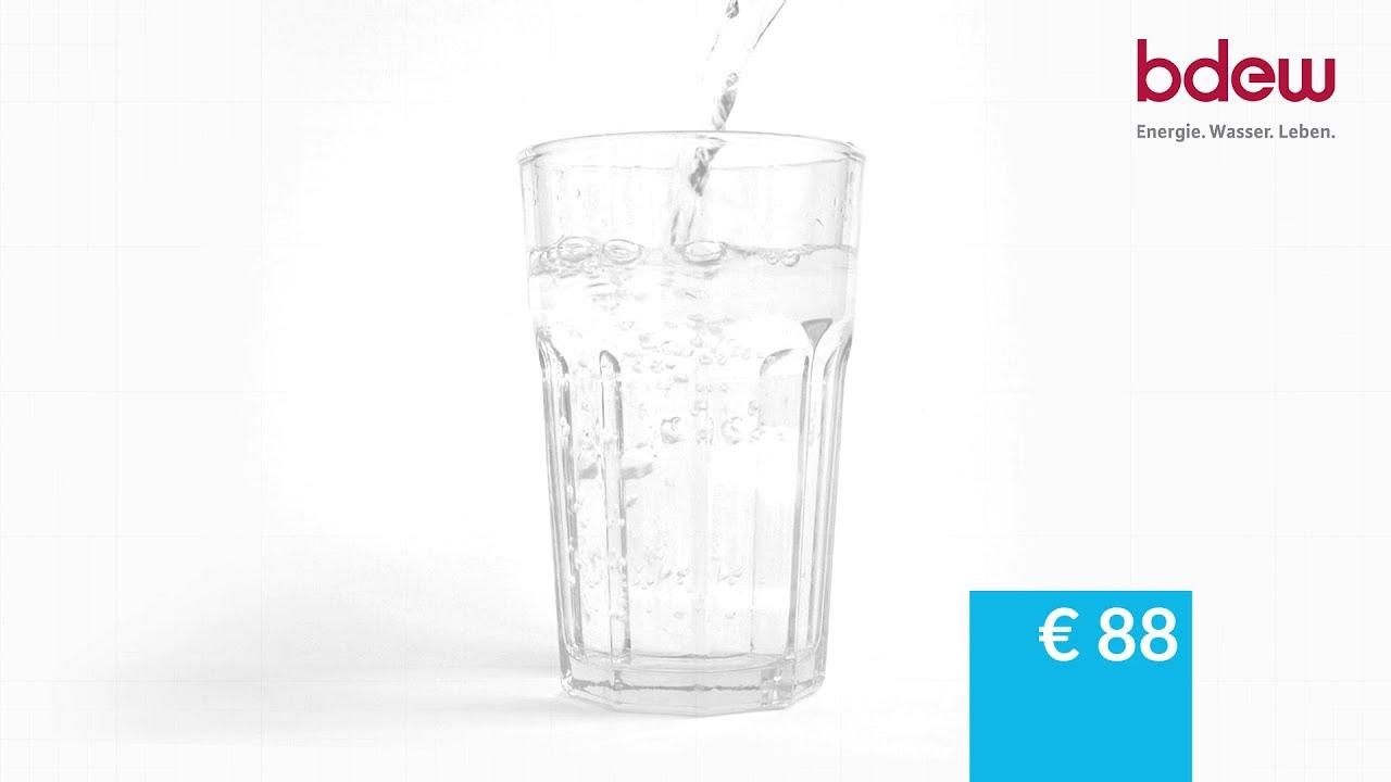 Trinkwasser Preise und Gebühren