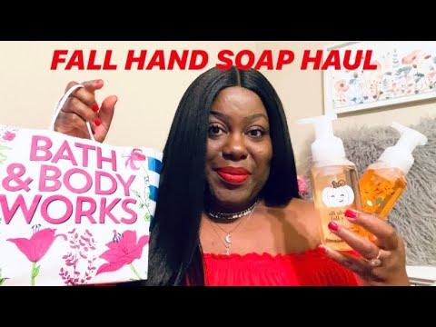NEW FALL HAND SOAP HAUL | BATH & BODY WORKS