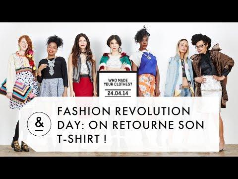 ON RETOURNE SON T-SHIRT POUR LA FASHION REVOLUTION WEEK !