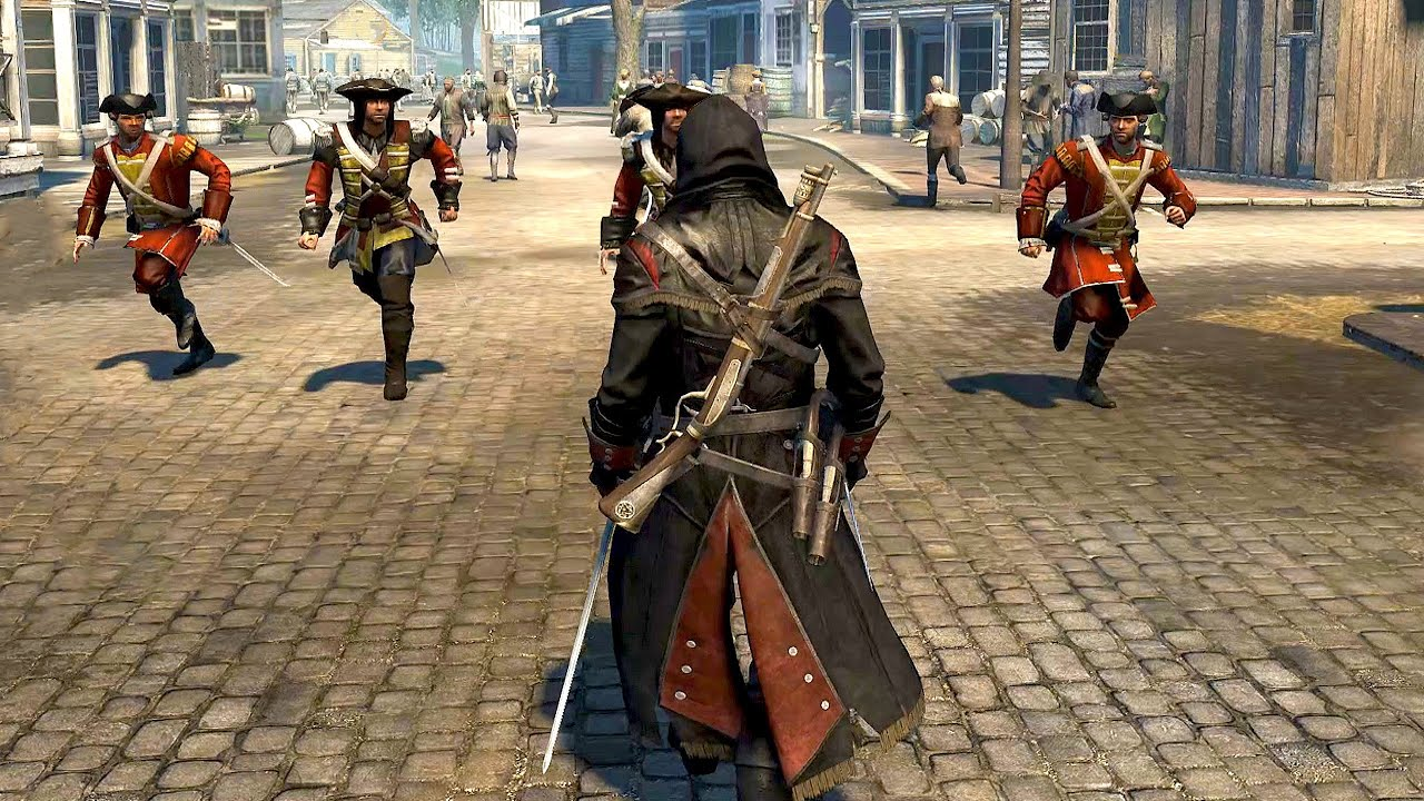 Assassins Creed Rogue Templar Master Intense Combat Brutal