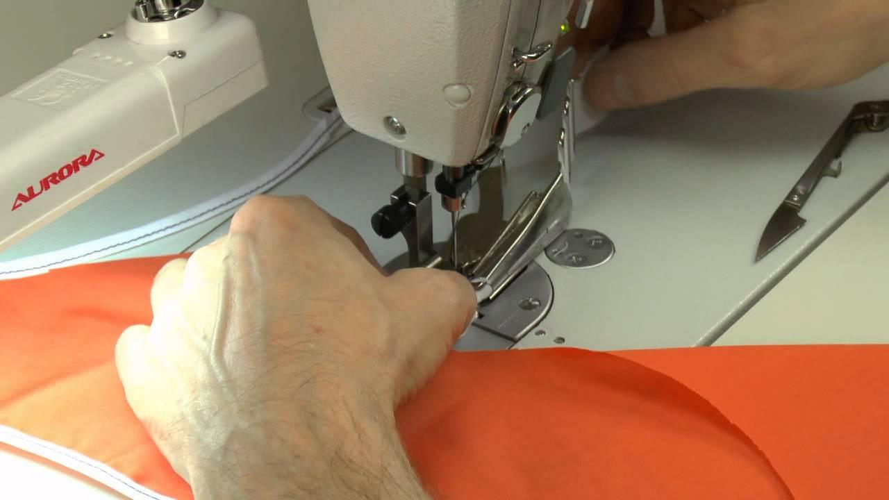 Инструкция для лапки для косой бейки к швейной машине