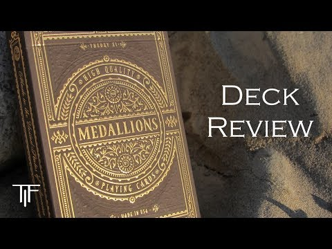 Theory 11 Medallions Playing Cards - Deck Review