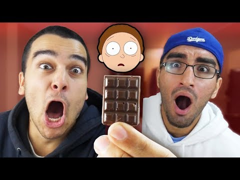 This Little Piece of Chocolate Could Kill Us... (WORLDS HOTTEST CHOCOLATE BAR CHALLENGE)